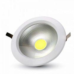 20W LED mélysugárzó kör alakú A++