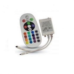 24 gombos RGB LED szalag vezérlő