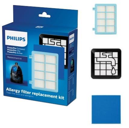Hepa Filter / Szűrő Készlet Philips FC 9330 / 9331 / 9332 / 9333 / 9334 MOSHATÓ